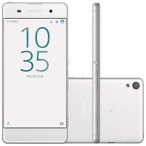 "Smartphone Sony Xperia XA 16GB Branco Dual Chip 4G - Câm. 13MP + Selfie 8MP 5"" Proc. Octa Core"