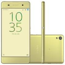 "Smartphone Sony Xperia XA 16GB Verde Dual Chip 4G - Câm. 13MP + Selfie 8MP 5"" Proc. Octa Core"