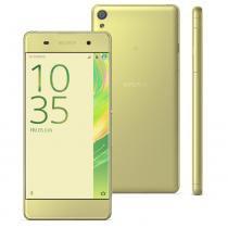 """Smartphone Sony Xperia XA F3116, 16GB, 5"""", 13MP, 4G, Android 6.0 - Dourado -"""
