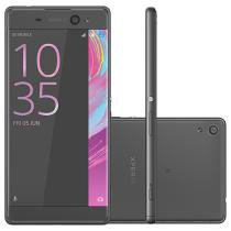 Smartphone Sony Xperia XA Ultra 16GB Preto - Dual Chip 4G Câm. 21,5MP + Selfie 16MP Tela 6""