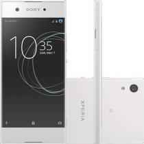 "Smartphone Sony Xperia XA1 Dual Chip Tela 5"" Octacore 32GB Wi-Fi Câmera 23MP - Branco -"