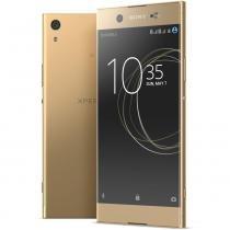 Smartphone Sony Xperia XA1 Ultra G3226 Dourado 64GB tela 6 FHD 23MP 4G Android 7.0 Octa-Core 4GB -