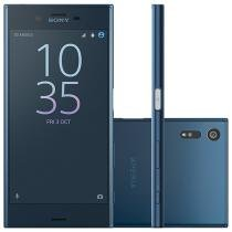 "Smartphone Sony Xperia XZ 32GB Azul 4G - Câm. 23MP + Selfie 13MP Tela 5.2"" Proc. Quad Core"