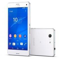 Smartphone Sony Xperia Z3 Compact Mini 4G 16GB Tela 4.6 Android 4.4 Câmera 20.7MP Single Quad Band -