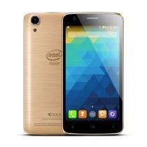 Smartphone X-Gold W509 INTEL - Dourado - Qbex