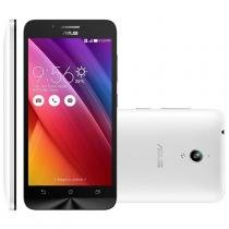 Smartphone zenfone go asus, 3g, 16gb, android 5, branco - zc500tg -
