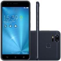 SmartphoneZenfone Zoom S Com 64Gb, Tela 5.5// E 4Gb De Ram -Asus Preto -