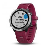 Smartwatch Multiesportivo Com GPS e Música Garmin Forerunner 645 Music Cereja -