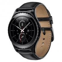 Smartwatch Samsung Gear S2 CLassic SM-R732 Preto Touch Screen com Monitor Cardíaco - Samsung