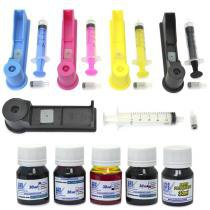 Snap Fill para Cartuchos HP 564, 670 e 920 + 150ml de Tint - VISUTEC -