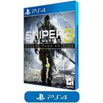 Sniper: Ghost Warrior 3 Season Pass Edition - para PS4 Ci Games
