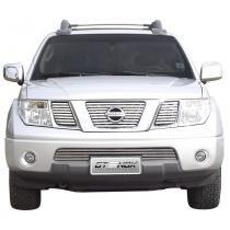 Sobre Grade Nissan Frontier SEL 2008 a 2012 Aço Inox - Gtnox