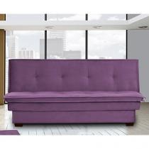 Sofá-cama 3 Lugares Suede Reclinável - Matrix Kate