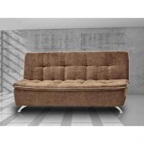 Sofá-cama 3 Lugares Suede Reclinável - Matrix Raquel