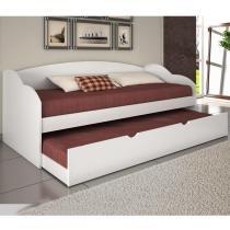Sofá cama Funny  Branca - Conquista móveis