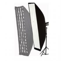 Softbox Montagem em Bowens Com Tela Grid 30x140 - Greika -