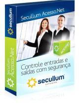 Software Controle de Acesso Secullum Acesso.Net 400 usuários - MENSALIDADE -