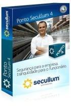 Software Controle de Ponto Secullum Ponto4  2.000 ativos -
