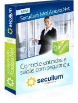 Software de Controle de Acesso Secullum Mini Acesso.Net -