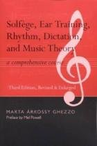 Solfege, Ear Training, Rhythm, Dictation, and Musi - Alabama univ press