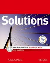 Solutions pre-intermediate sb with cd-rom - 1st ed - Oxford university