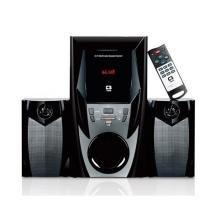 Som 2.1 Mini System Bluetooth Radio USB SD C3TECH SP-365B BK -