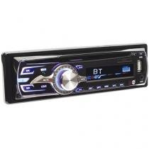 Som Automotivo Dazz DZ-65895BT CD Player Bluetooth - MP3 Player Rádio AM/FM Entrada USB Micro SD