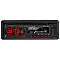 Som Automotivo Disco Multilaser CD Player Bluetooth USB/SD - P3322 -
