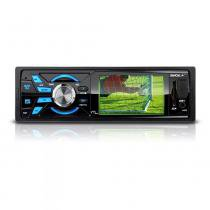 Som Automotivo Multilaser Rock+ Tela 3 + Tv Digital Rádio Fm Entradas Mp4 - P3227 -
