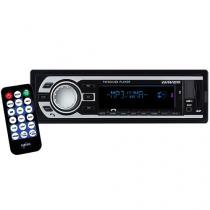 Som Automotivo Naveg NVS 3018BT Bluetooth MP3 Player Rádio FM Entrada USB Micro SD Auxiliar