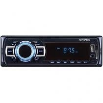 "Som Automotivo Naveg NVS 3068 Tela 2,4"" - MP3 Player Rádio FM Entrada USB SD Auxiliar"