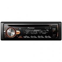Som Automotivo Pioneer DEH-X50BR CD Player Bluetooth MP3 Player Rádio AM/FM