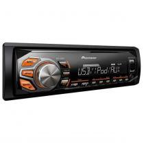 Som Automotivo Pioneer Mvh-x168ui Com Rádio Am/fm, Tecnologia Mixtrax, Entradas Usb, Auxiliar e Rca, - PIONEER
