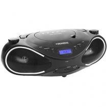 Som Portátil 10W RMS MP3 USB e Auxiliar - Entrada para Cartão de Memória Mondial BX-16