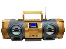 Som Portátil Boombox FM Estéreo, CD, MP3, USB, Auxiliar e Bluetooth Lenoxx - Lenoxx