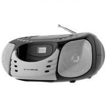 Som Portátil Philco PB119N2, MP3, USB, Auxiliar, Bivolt - Cinza -