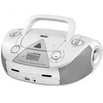 Som Portátil Philco PB126, Rádio FM, 4W RMS, MP3 USB Bivolt  Branco -