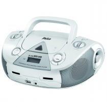 Som Portátil/Rádio 4W RMS CD AM FM MP3 USB Branco - Philco - Philco