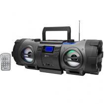 Som Portátil USB MP3 CD FM BD 1501 Boombox - Lenoxx