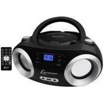 Som Portátil USB MP3 CD FM Boombox BD 1360 - Lenoxx
