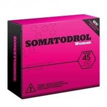Somatodrol Woman 45Comp Iridium - Ergogenico - Morango - Iridium labs
