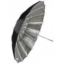 Sombrinha refletora gigante preta e prata com 150cm de diâmetro greika ub-l3-60 -