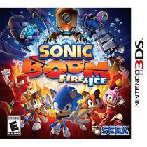 Sonic boom: fire  ice - 3ds - Nintendo