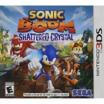 Sonic boom: shattered crystal - 3ds - Nintendo