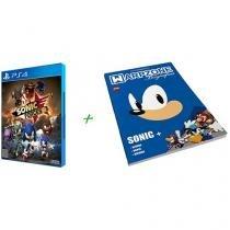 Sonic Forces para PS4 - Sega + Livro Biografias Sonic
