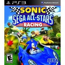 Sonic  sega all star racing - ps3 - Sony