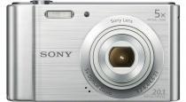 Sony Cyber-Shot DSC-W800 - 20.1 Mega Pixels - Zoom Óptico 5x - Filma em HD - Foto Panoramica - Prata -