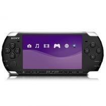 Sony Psp Black Slim PortáTil - SéRie 3000 -