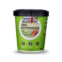 Sopa proteica 60g - batata doce e proteína da ervilha - Power1one