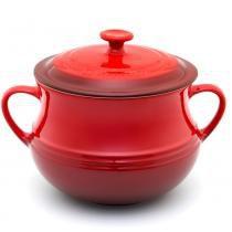 Sopeira de cerâmica Le Creuset vermelha 4 litros - 100213 -